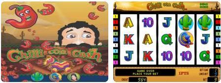 игровой автомат novomatic   coolfire Chilli Con Cash