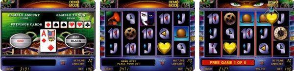 игровой автомат novomatic   coolfire Heart of Gold