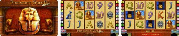игровой автомат novomatic | coolfire Pharaohs Gold