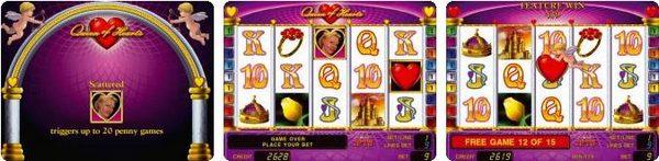игровой автомат novomatic | coolfire Queen of Hearts