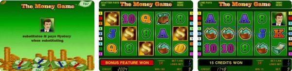 игровой автомат novomatic   coolfire The Money Game
