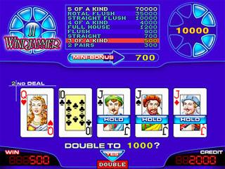 Играй в Poker Windjammer II без регистрации